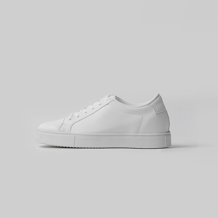 Minimal Leather Sneakers(2col) 미니멀 레더 스니커즈